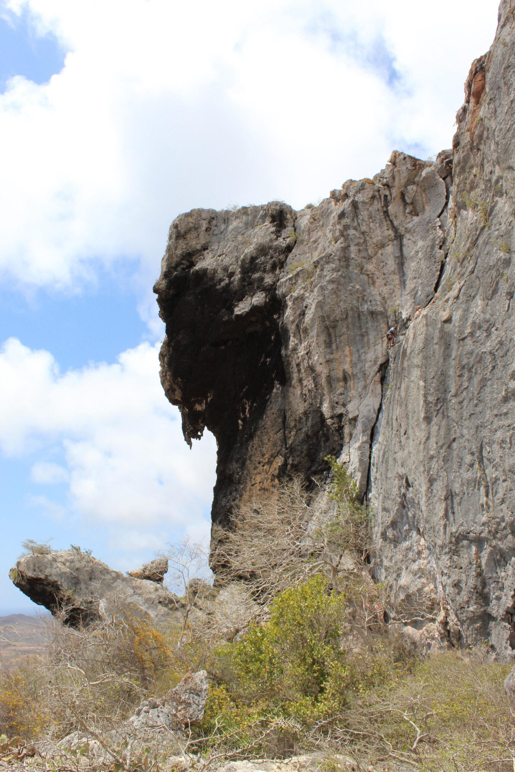 The Mighty Tafelberg in Curacao
