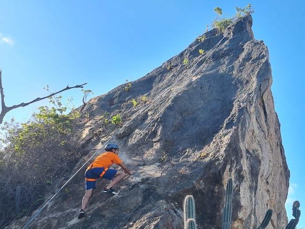 Fort Beekenburg Rock Climbing Curacao