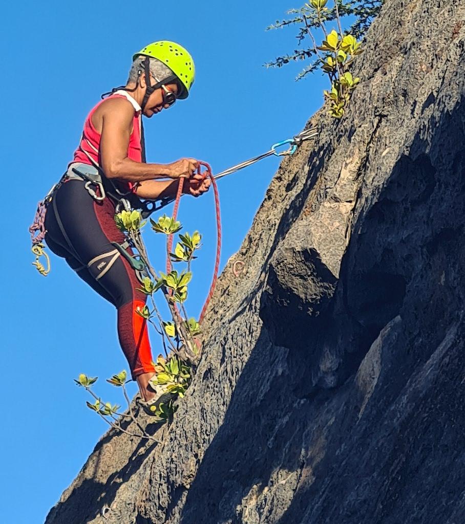 Basic Course Rock Climbing Curacao