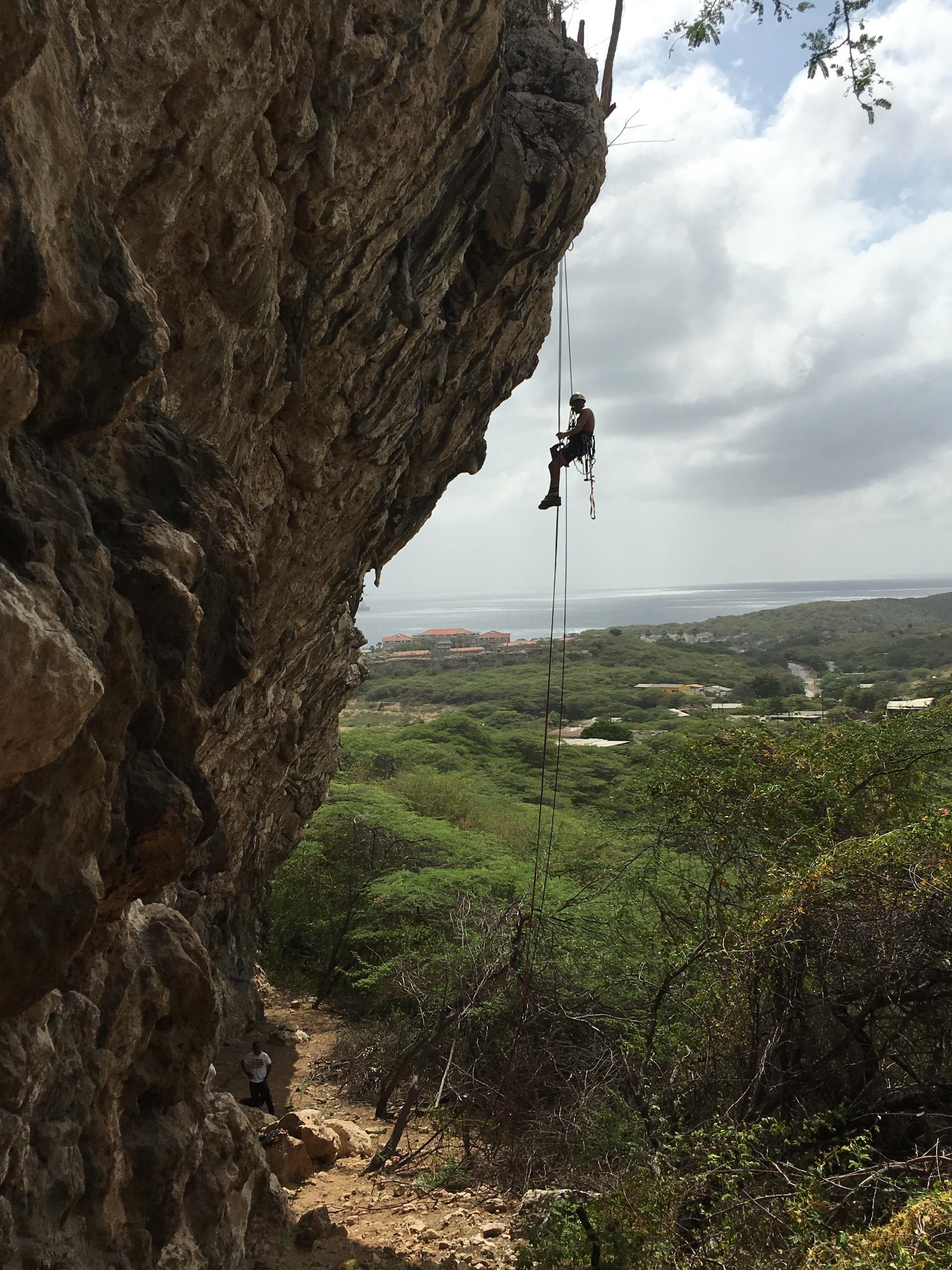 intermediate Course Rock Climbinf Curacao