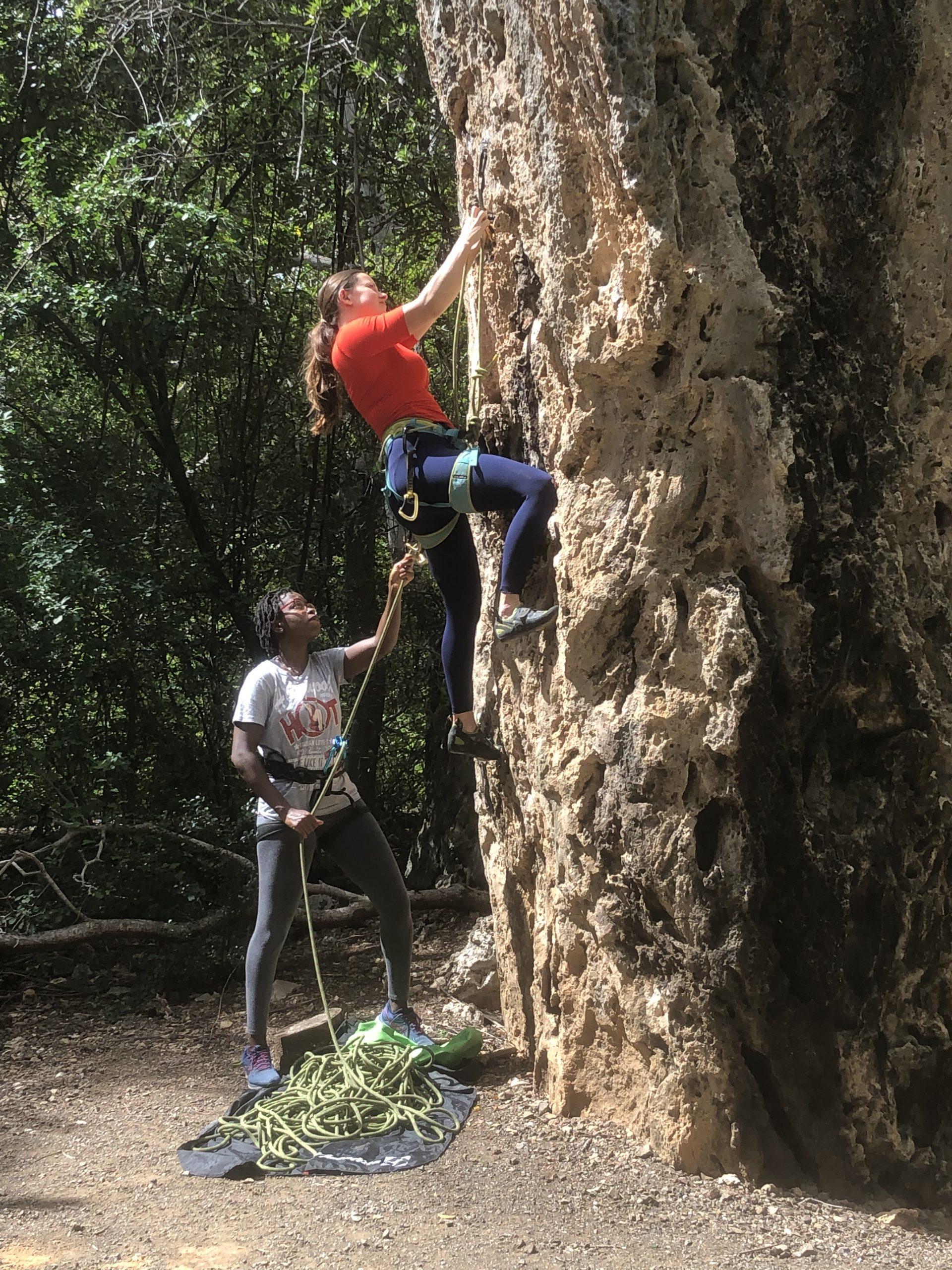 Intermediate Course Rock Climbing Curacao